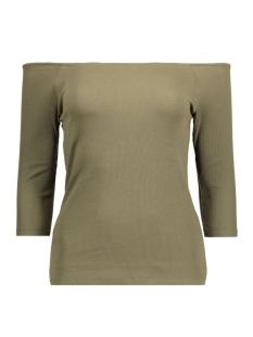 Vero Moda T-shirt VMBAL OPENSHOULDER 3/4 TOP NFS 10177611 Ivy Green