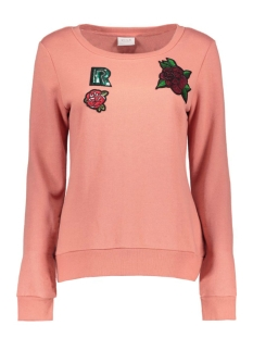 Vila Sweater VIPOST SWEAT TOP 14041279 Rose Dawn