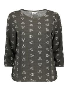 Object T-shirt OBJNILLE 3/4 TOP 23024641 Beluga