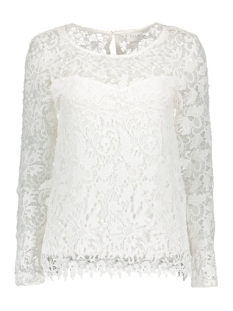 VIPRISSY L/S TOP 14040939 Cloud Dancer