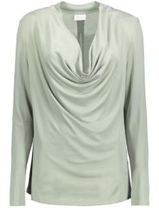 Vila T-shirt VIKOLL L/S TOP 14038875 Slate Gray