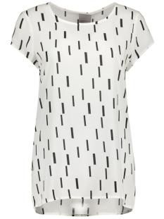 Vero Moda T-shirt VMLEA BOCA S/S TOP NFS 10175307 Snow white