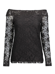 NMTRISHA L/S TOP 10167423 Black