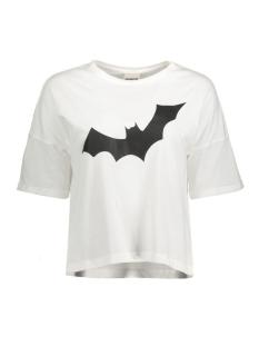 Noisy may T-shirt NMBAT S/S TOP 10174450 Bright White
