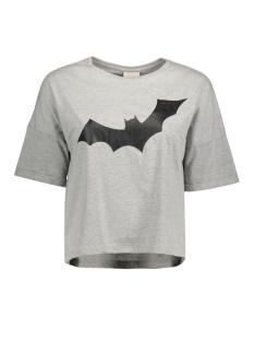 Noisy may T-shirt NMBAT S/S TOP X 10174450 Light grey melange