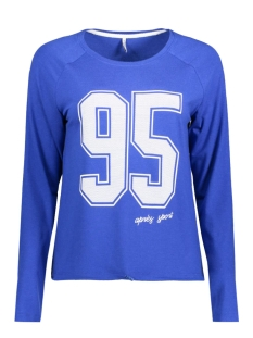 Only T-shirt onlCOUNT L/S TOP ESS 15134425 Surf The Web