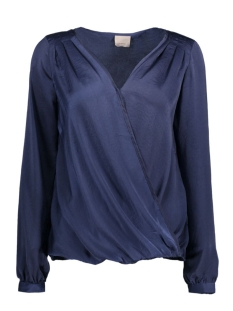 VMTAMMY WRAP L/S TOP NFS 10175568 Peacoat