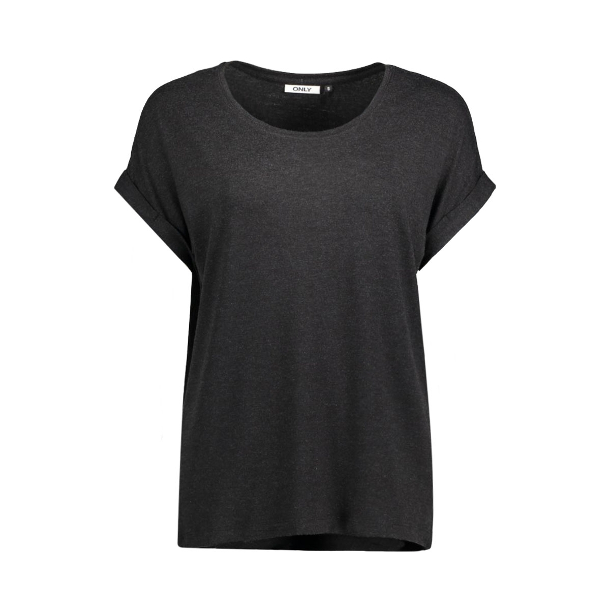 onlmoster s/s o-neck top noos jrs 15106662 only t-shirt black