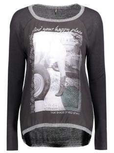 Only T-shirt onlCHOLO L/S TOP JRS 15129522 Black/Bike Girl