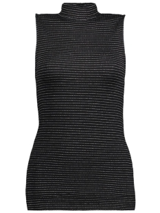 PCDAYA T-NECK TOP/LUREX 17077993 black
