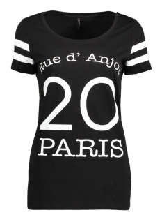 onlNEW JOLI S/S TOP BOX ESS 15135915 Black/Paris
