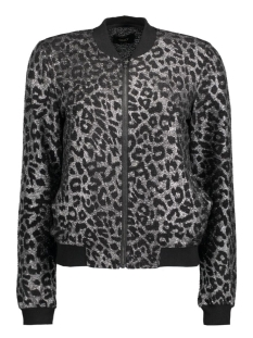 Only Jas onlLEPARD L/S BOMBER JACKET JRS 15131617 Silver