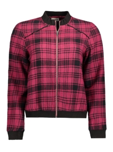 Noisy may Jas NMERIK L/S JACKET 10167467 Beet Red