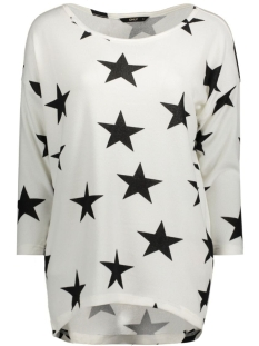 onlELCOS STAR 4/5 TOP JRS RP1 15126712 Cloud Dancer/Black Star