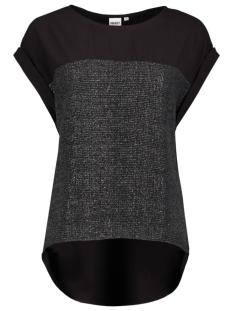 Object T-shirt OBJNIENNA S/S TOP 23018685 Black