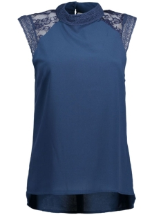 Object Top OBJCAM S/L HIGHNECK TOP 23024010 Insignia Blue