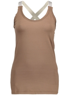 Key Largo Top DT00681 Mocca Brown