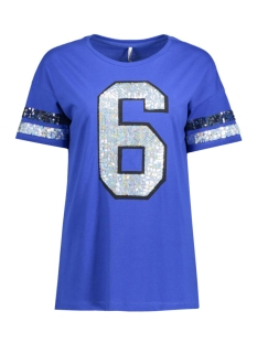 Only T-shirt onlCOUNT S/S SPARKLE TOP ESS 15134424 Surf the Web