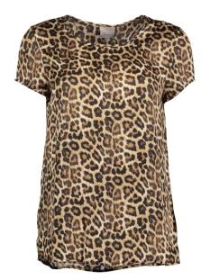 Vero Moda T-shirt VMLEOANA BOCA S/S TOP NFS 10177085 Black/Leopard