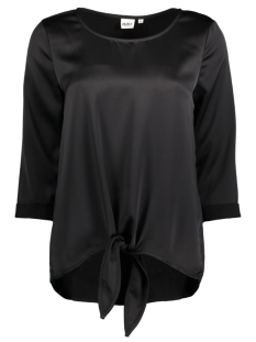 Object T-shirt OBJSHADY 3/4 TOP A NY 23024375 Black
