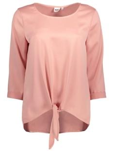 Object T-shirt OBJSHADY 3/4 TOP A NY 23024375 Misty Rose