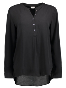 Jacqueline de Yong Blouse JDYTRIBBIANI L/S PLACKET TOP WVN 15127000 Black