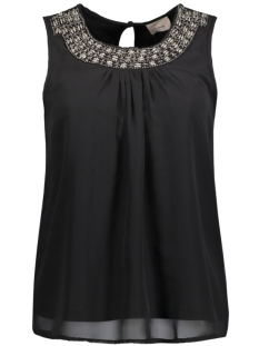 Vero Moda Top VMBRIT BEAD S/L TOP NFS 10167394 Black
