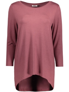 Only T-shirt onlMOSTER MELCOS 3/4 TOP JRS NOOS 15123342 Wild Ginger