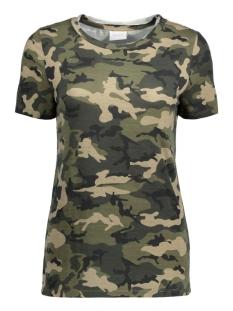 Vila T-shirt VITAMMI T-SHIRT 14041277 Ivy Green