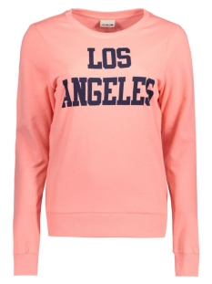 Noisy may Sweater NMPANA L/S TOP 10164756 Salmon Rose/Los Angeles