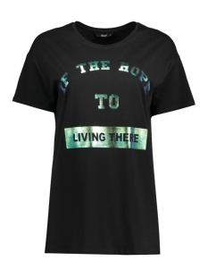 onlWINNER S/S TSHIRT BOX JRS 15136387 Black/Living The