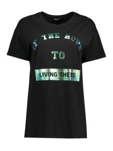 Only T-shirt onlWINNER S/S TSHIRT BOX JRS 15136387 Black/Living The