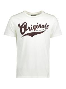 Jack & Jones T-shirt JORSHOCK TEE SS CREW NECK 12113341 Cloud dancer