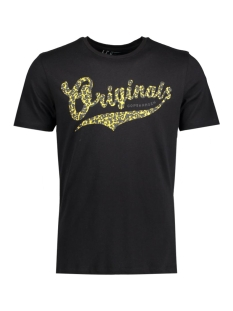 Jack & Jones T-shirt JORSHOCK TEE SS CREW NECK 12113341 Black