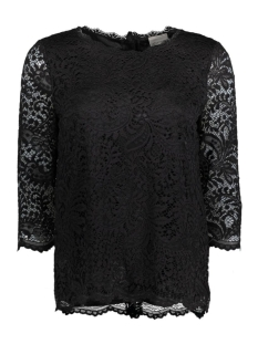 Vero Moda Blouse VMCELEB 3/4 LACE TOP JRS 10169107 Black