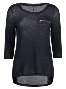 Only Trui onlSOLA 3/4 ZIP TOP ESS RP1 15136680 Night Sky