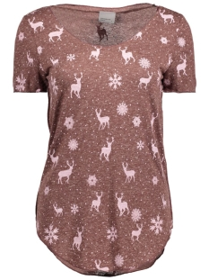 VMLUA SS TOP COLOR 10165465 Chocol/Reindeers