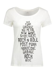 Jacqueline de Yong T-shirt JDYSPARKLE S/S PRINT TOP 12 JRS 15126209 Cloud Dancer/Grunge