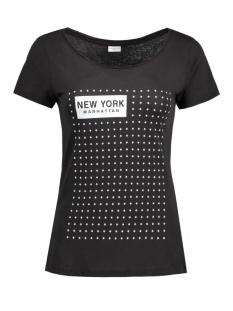 Jacqueline de Yong T-shirt JDYSPARKLE S/S PRINT TOP 12 JRS 15126209 Black/Stars