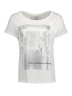 Vero Moda T-shirt VMGOTHIC S/S T-SHIRT BOX D2-1 10171915 Bright White/ Life