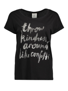 Vero Moda T-shirt VMGOTHIC S/S T-SHIRT BOX D2-1 10171915 Black/Kindness