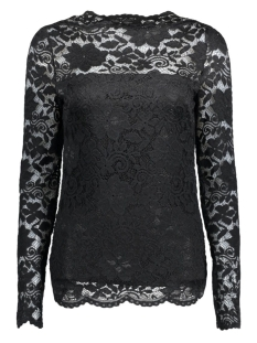 Vila T-shirt VIGRIT L/S TOP 14039876 Black