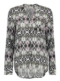 Vero Moda Blouse VMSUE ELLA PRINT L/S SHIRT NFS 10177359 Total Eclipse/Ethnic