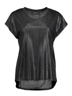 Vila T-shirt VIPOL S/S TOP 14037540 Black