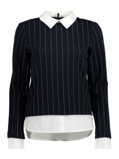 VMGABRIELLE L/S PIN STRIPE TOP NFS 10171332 Black/As Sample