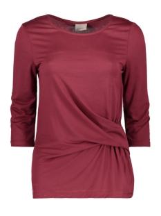 Vero Moda T-shirt VMMONICA KNOT 3/4 TOP PRE 10175198 Zinfadel