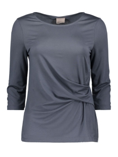 Vero Moda T-shirt VMMONICA KNOT 3/4 TOP PRE 10175198 Ombre Blue