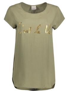 Vero Moda T-shirt VMBOCA SS BLOUSE PRINTED 10128072 Ivy Green