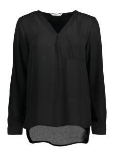 stuBAILEY L/S V-NECK SHIRT 15133054 Black