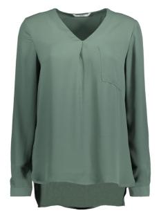 stuBAILEY L/S V-NECK SHIRT 15133054 Balsam Green